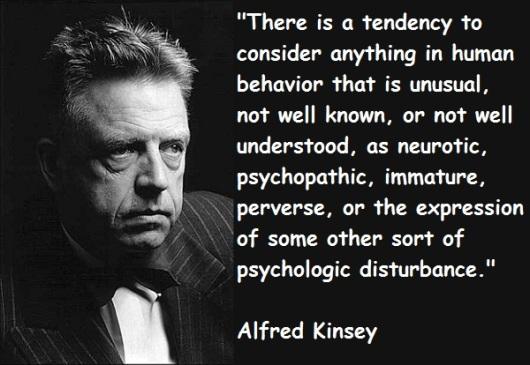 """Кинсијева """"истраживања"""" уздрмала су темеље морала и лансирале сексуалну револуцију, резултирајући астрономском инциденцијом свих социјалних патологија, као што су хомосексуализам, садомазохизам, силовања, злостављање деце…"""