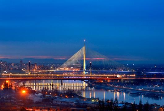 Мост на Ади у Београду