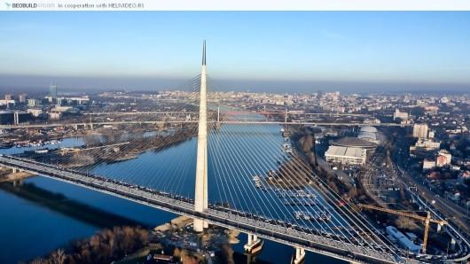 Поглед на мост преко Аде