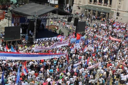 Да Косово и Метохија! Не Евопска Унија!