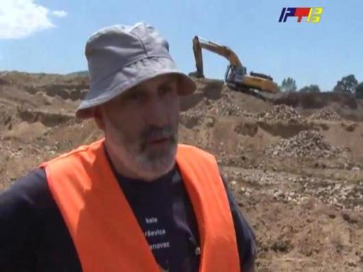 Археолог народног музеја у Врању - Горан Митровић