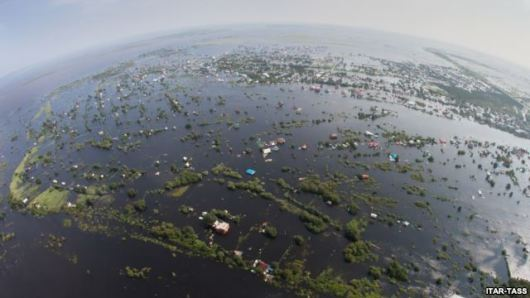 floods-turn-amur-region-of-russia-into-a-sea