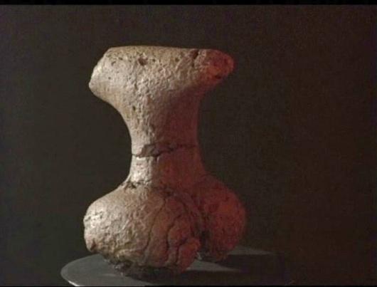 """Фигура Богиње """"Велика Мајка"""" са археолошког налазишта Благотин"""