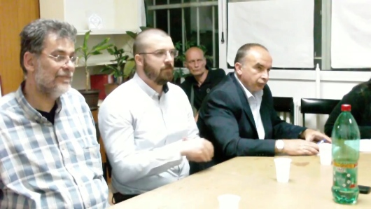 Говорници на трибини: Милан Миленковић, Игор Антишић и Драган Радовић